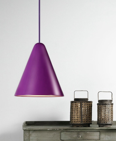 The NX505 Jive Suspension Lamp - Purple Nordlux 75403007 Pendant