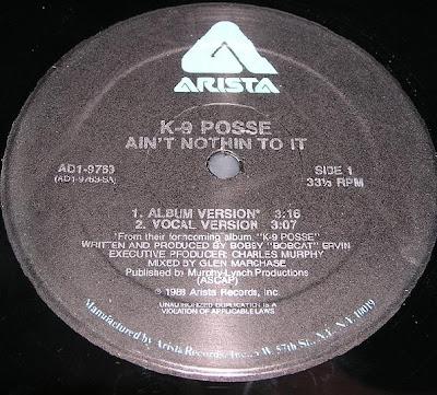 K-9 Posse – Ain't Nothing To It (VLS) (1988) (320 kbps)
