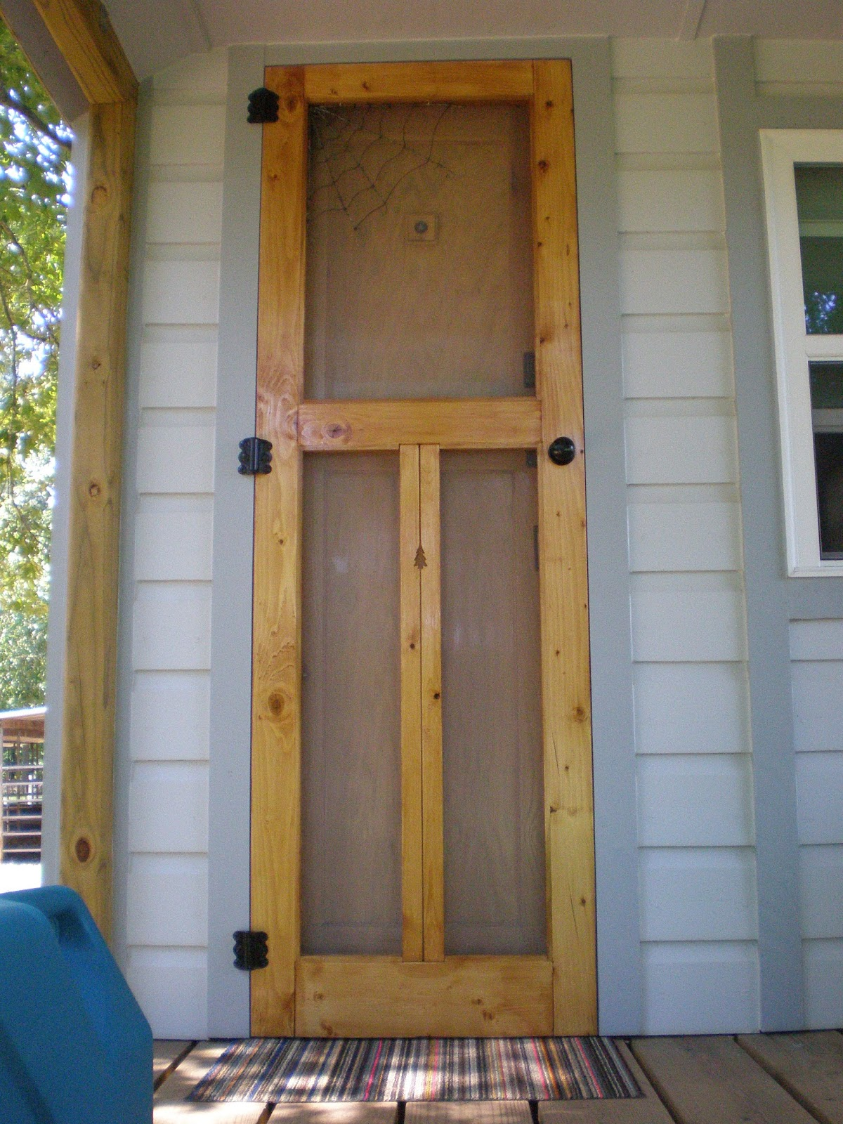 We Also Put A Strip Of Rolled Foam Against The Door Jam Inside So When The  Door Slams Shut, It Wouldnu0027t Be Wood Against Wood.