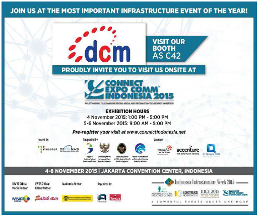 KUNJUNGI KAMI DI INDONESIA INFRASTRUCTURE WEEK - AS C42