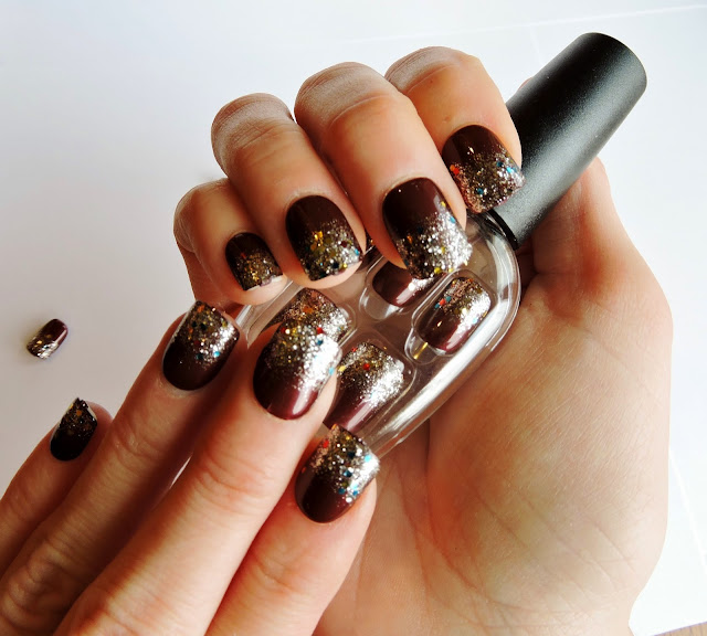 The Purple Scarf Nail Art Review Glitz Glamour From Impress