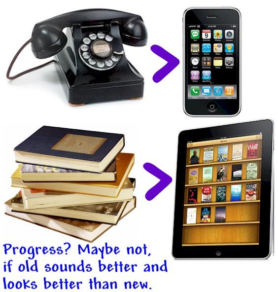 old tech vs new tech