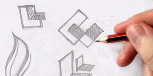 phác thảo logo
