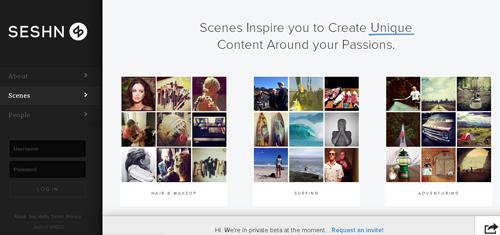 vincula todas tus redes sociales en Seshn - www.dominioblogger.com