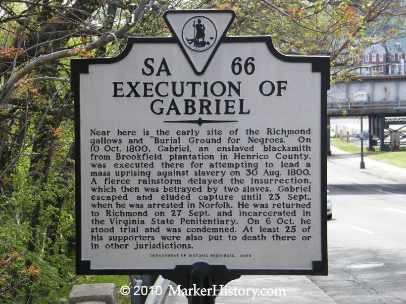 gabriel prosser 1800