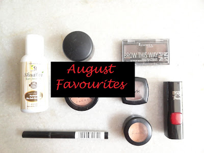 Monthly Favourites: August 2015 Favourites.  image
