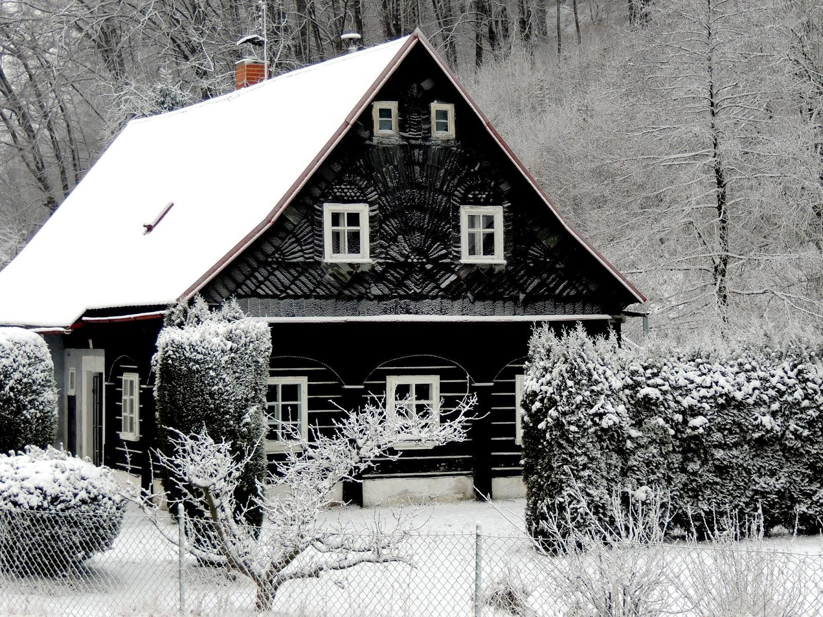 POHÁDKA: Sněhová chaloupka