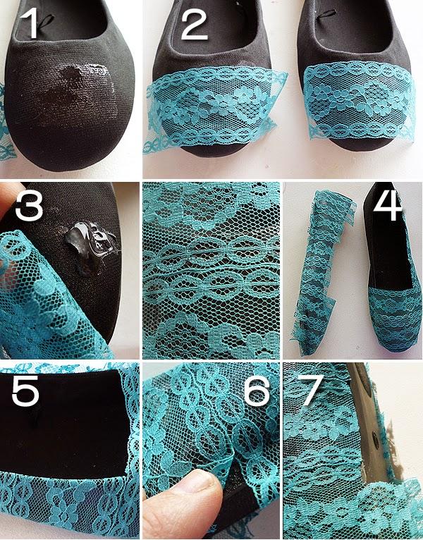 Como Renovar Zapatos Utilizando Encaje