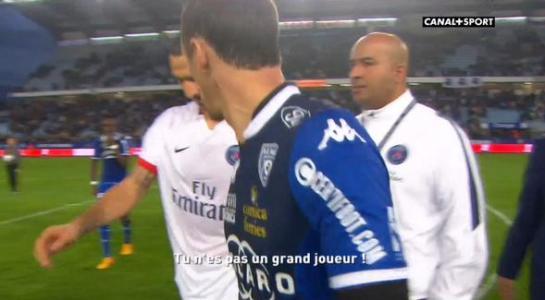 Sébastien Squillaci insulte Zlatan Ibrahimovic après Bastia-PSG