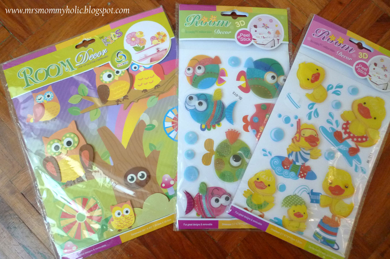 MrsMommyHolic Wall Stickers For Kids - Wall decals in divisoria