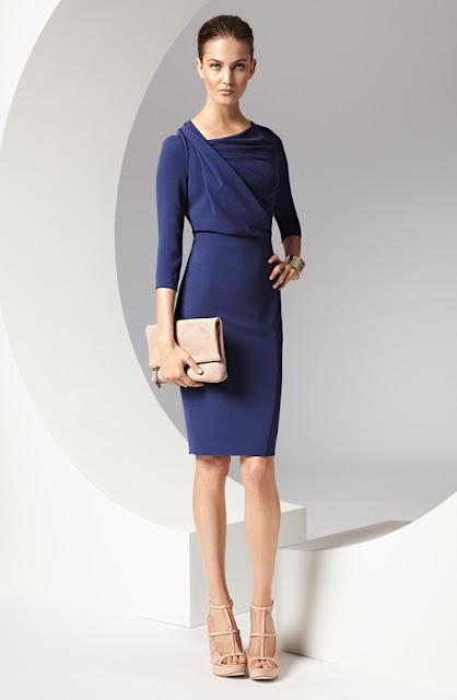 escada mavi elbise
