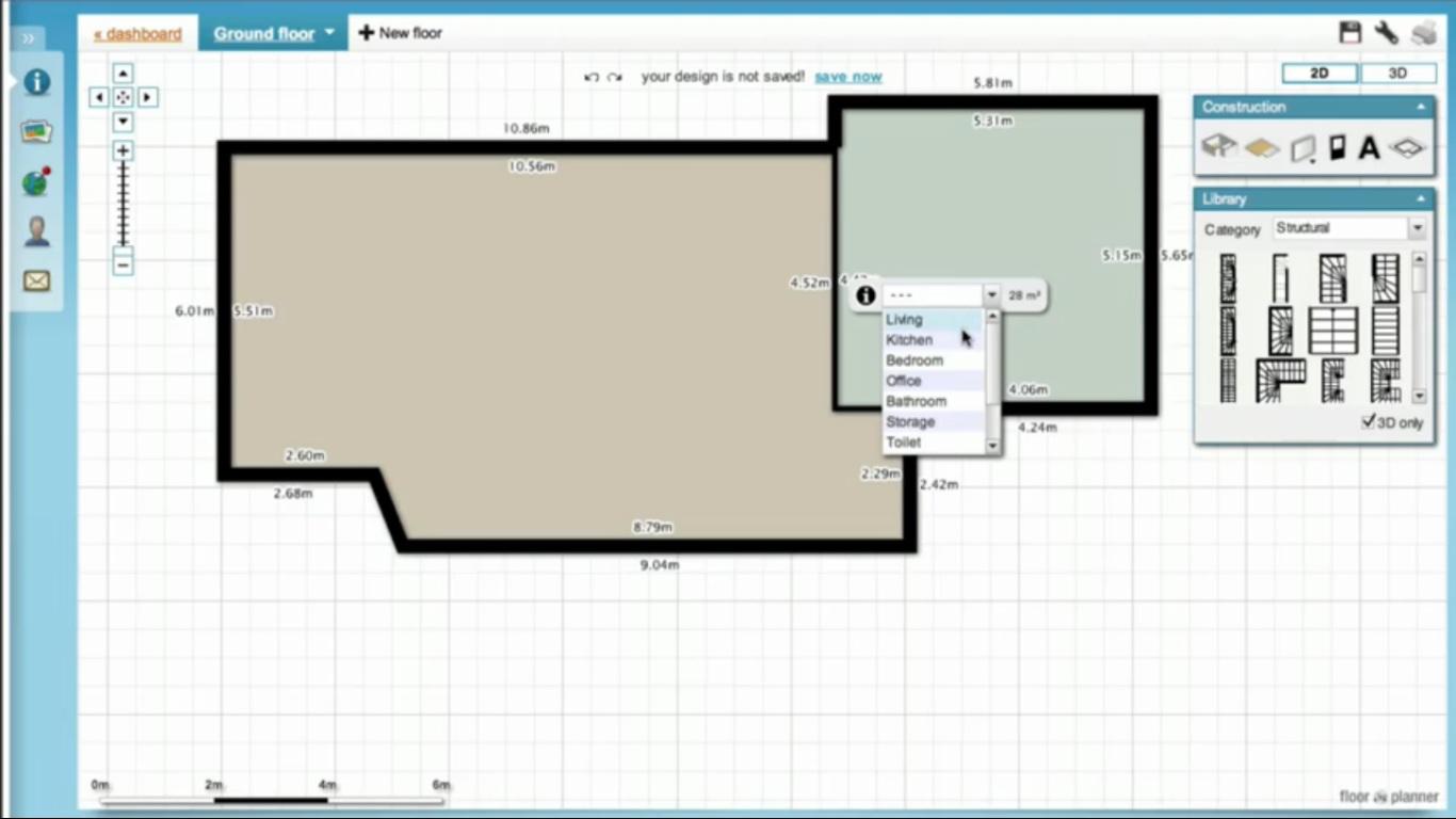Criar plantas de casas online gratis for Casa online