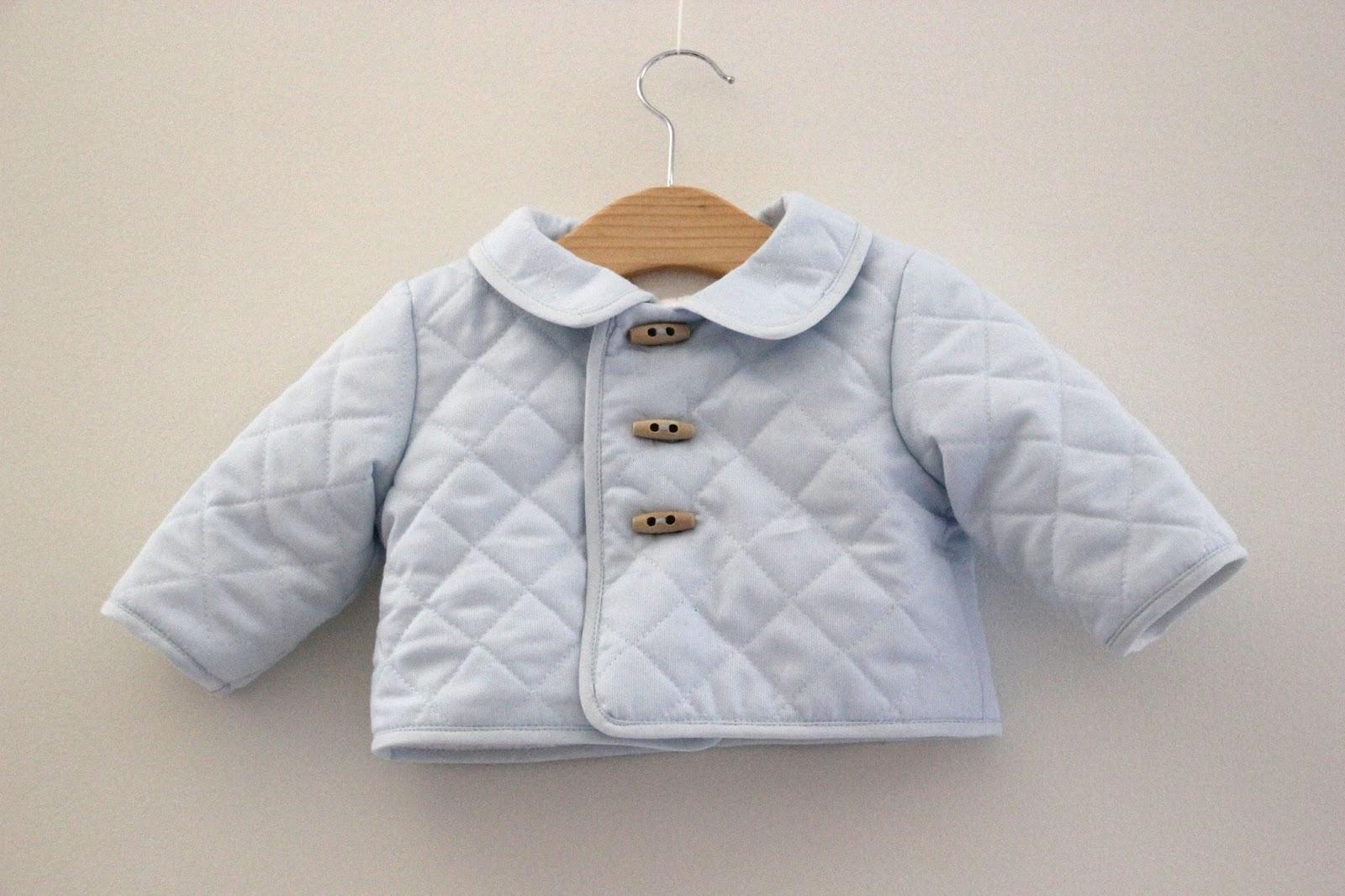 DIY Tutorial: Abrigo de bebé acolchado (patrones gratis) - Handbox ...