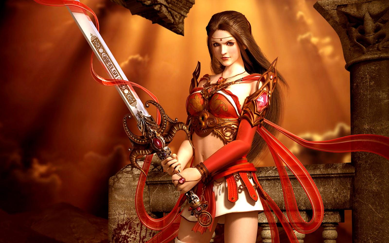 Warrior of the dark knight fantasy wallpapers - Fantasy female warrior artwork ...