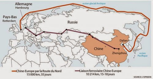 Resultado de imagen para china rusia y la ruta de la seda
