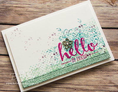 Timeless Textures and Hello Stamp Sets, Pool Party Glimmer Ribbon and much more - check out the new products at www.bekka.stampinup.net from 5 January 2016
