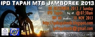IPD Tapah MTB Jamboree 2014 - 13 April 2014