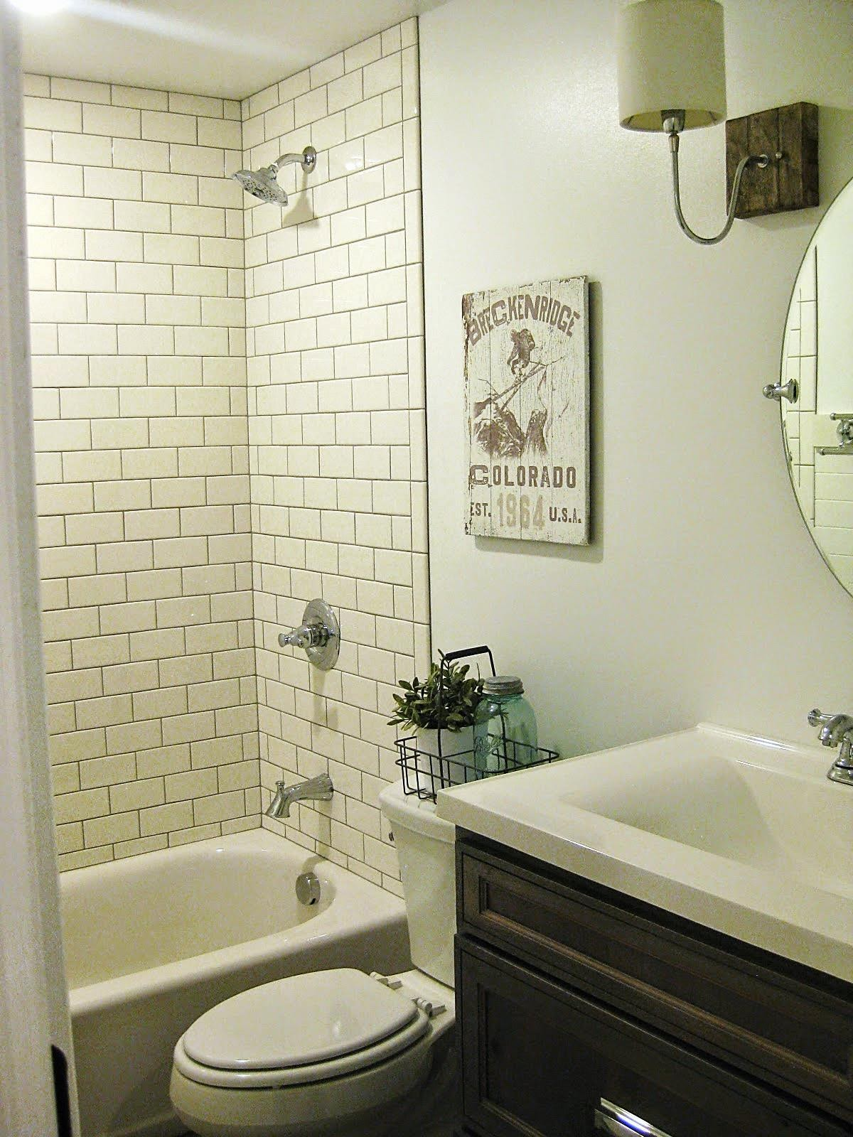Tda Decorating And Design Basement Bathroom Before Amp After