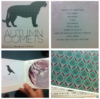 Autumn Comets nuevo disco 2013