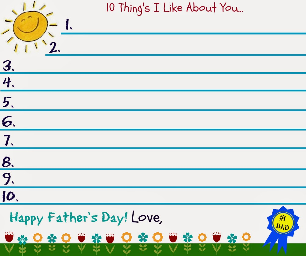 father's day printable pictures
