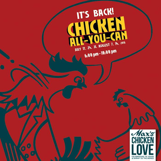 Max's 2015 Chicken All-You-Can promo