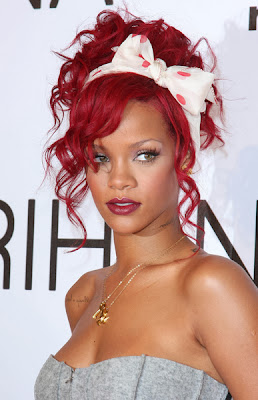 medium length red hairstyles for women