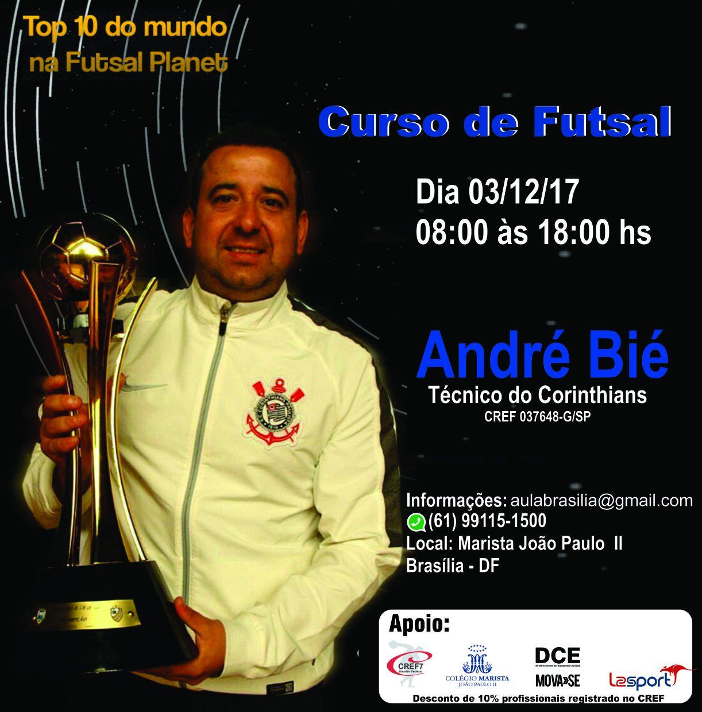 Curso de Futsal - Dia 03 de dezembro