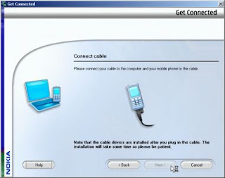 connecting mobile to Nokia Pc Suite