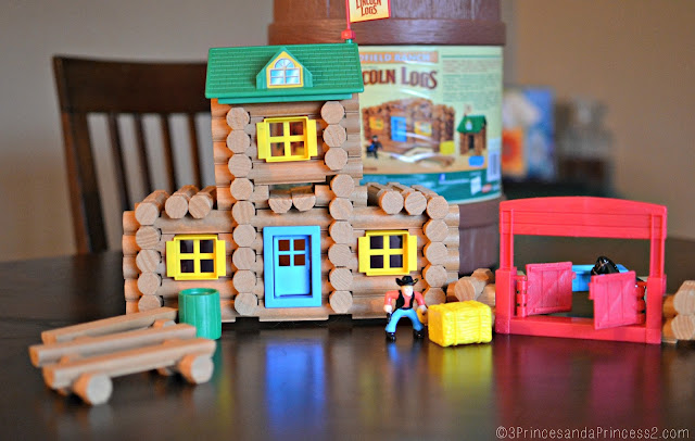 Lincoln Logs: Redfield Ranch Set @KnexBrands