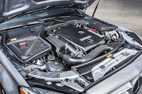 2015 All New Mercedes-Benz C-Class exclusive engine view