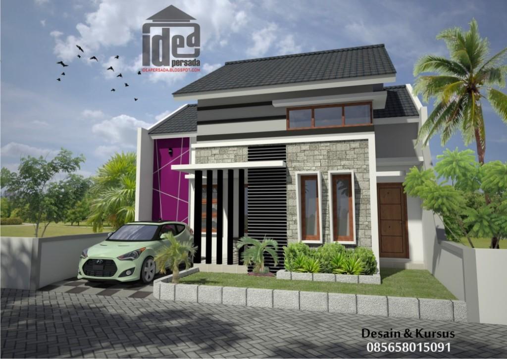 jasa desain rumah solo & Idea Persada Arsitektur Desain: Portofolio Arsitektur 3D Render