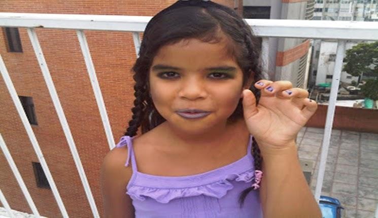 maquillaje de niña para halloween