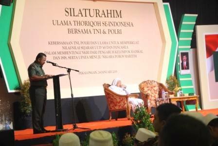 Ribuan Ulama Thariqah Bertemu TNI Dan Polri