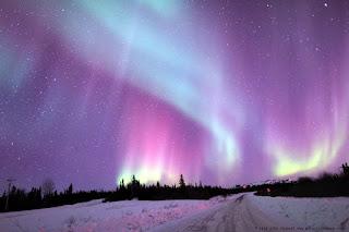 الشفق القطبى من أجمل الظواهر على الكرة الأرضية