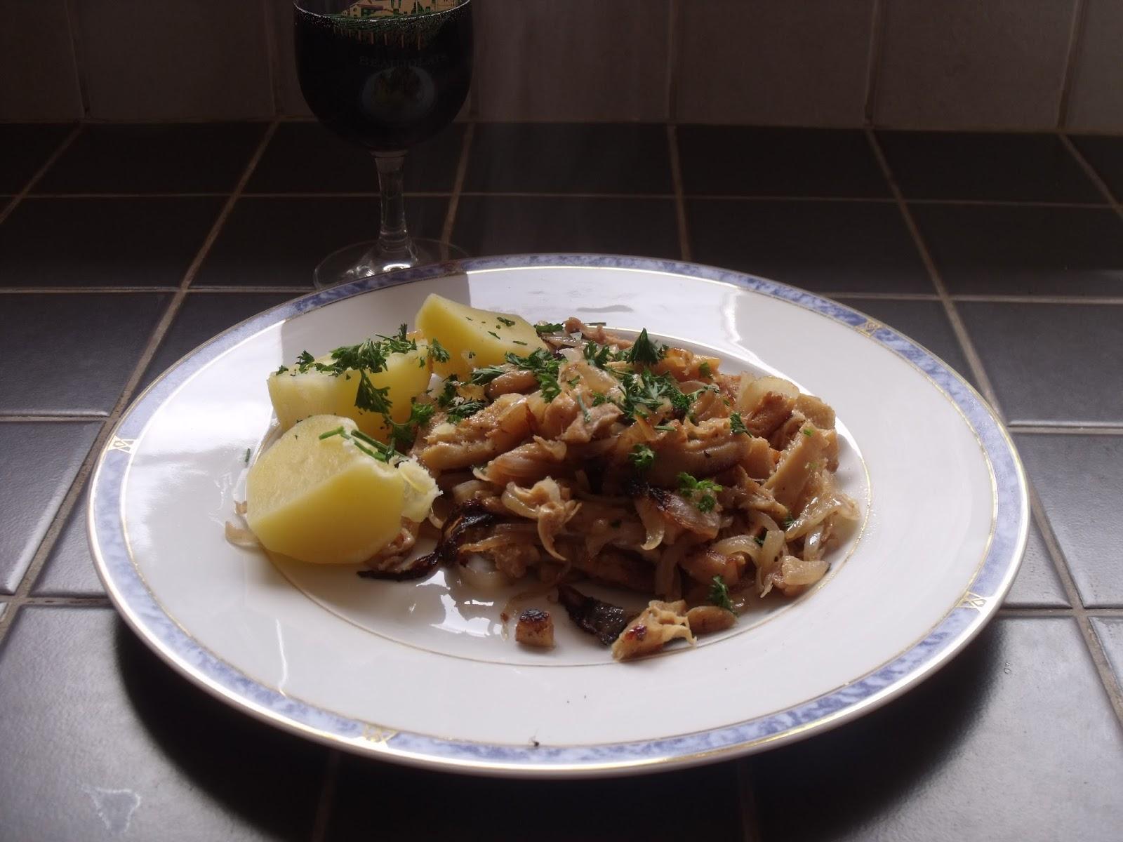 Cuisine de famille recette tripes la lyonnaise - Tripes a la lyonnaise ...