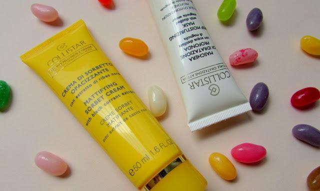 Увлажняющая маска Collistar Deep Moisturizing и матирующий крем-сорбет Collistar Mattifying Sorbet Cream