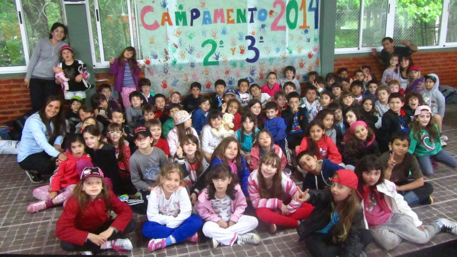 CAMPAMENTO 2º Y 3º - 2014