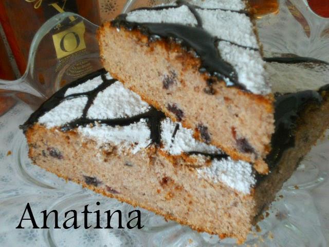 torta rustica con more