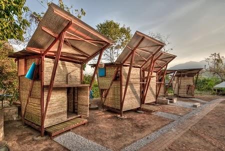 Orfanato Construido con Bambu, Arquitectura Sostenible