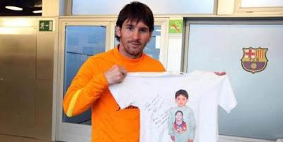 Messi Tanggung Biaya Pengobatan Anak Kecil Maroko [ www.BlogApaAja.com ]