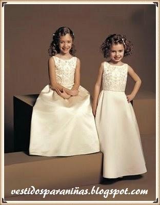 modelos de damitas para la ceremonia del matrimonio