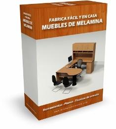 Fabrica y vende muebles de melamina f cil y en casa for Planos muebles de cocina para armar