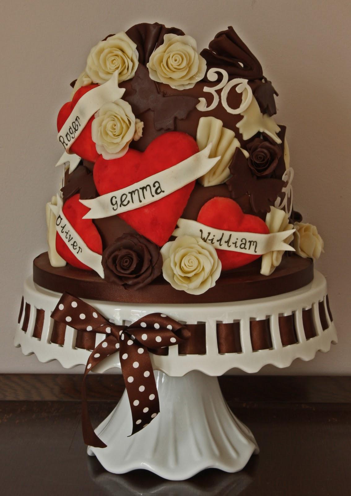 Vanilla Really Chocolatey Birthday Cake