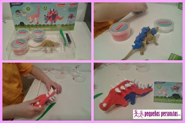 dinosaurio, manualidades, juguetes, juegos, goma de modelar, juguettos, manulidedos, compras