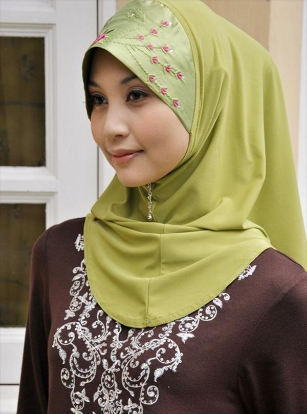Most Beautiful Hijab Style 2015-Muslim Girls Hijab