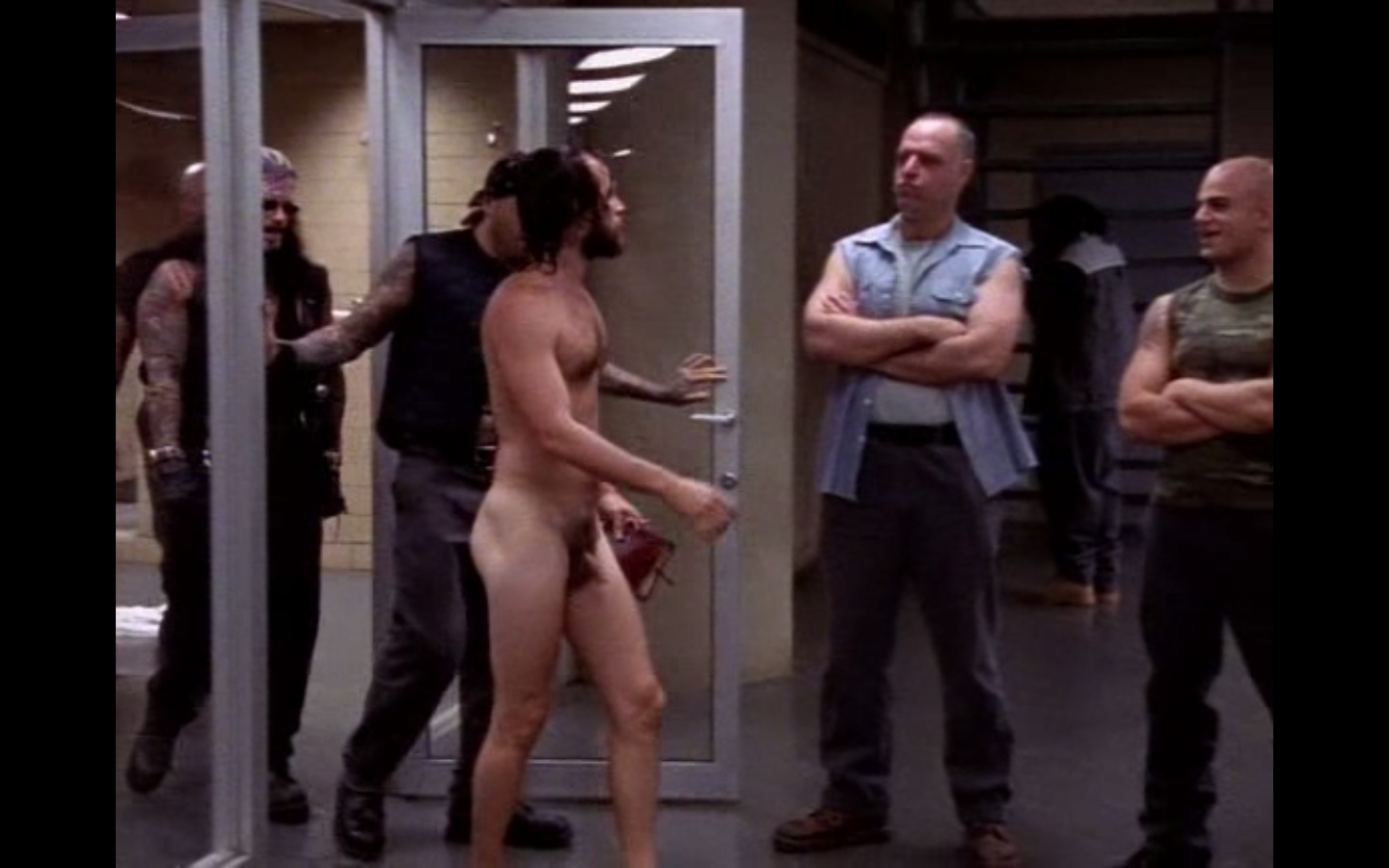 Luke Perry on Getting Naked on Oz -