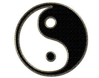 Yin Yang Negro