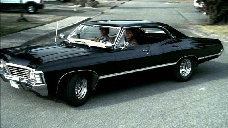 67 Chevy Impala Supernatural
