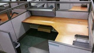 Herman Miller AO3 Modular work stations with glass