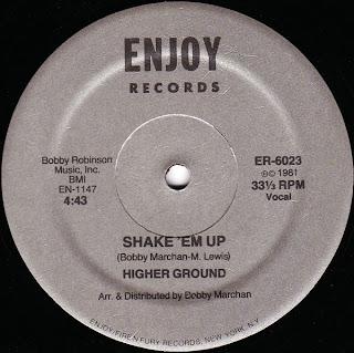 Higher Ground  - Shake \'Em Up 1981 12 Inch